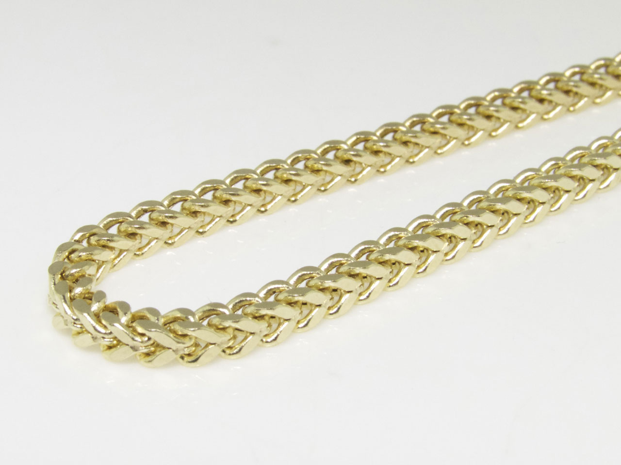 franco cuban gold chain mm solid necklace link real box clasp white inch from product miami yellow