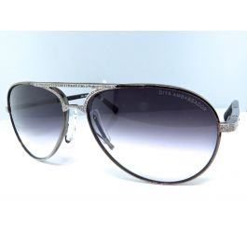cb1b1e7e9caf Dita Aviator Sunglasses Custom Set with Diamonds (1.85 Ct)