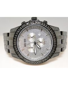 Mens Jojino by Joe Rodeo Genuine Black Diamond Watch MJ-1169 (2.25 Ct)