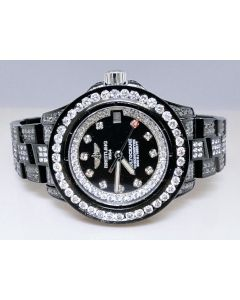 Breitling Aeromarine Black Pvd Colt Ocean Diamond Watch