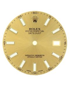 Factory Original Rolex Champagne Dial for Datejust II 41MM Two Tone Watch