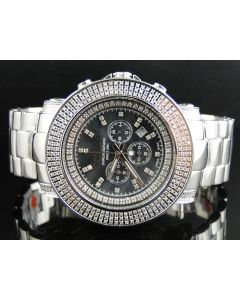 Don & Co Junior 51MM Diamond Watch R8049W (5.5 Ct)
