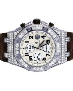 Audemars Piguet Royal Oak Offshore Safari 42MM Diamond Watch 8.5 Ct