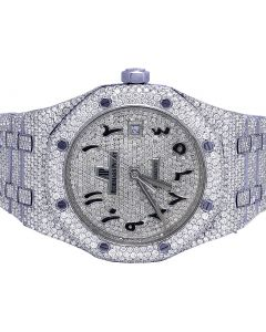 Audemars Piguet Royal Oak 41MM Steel VS Diamond Watch 33.0 Ct