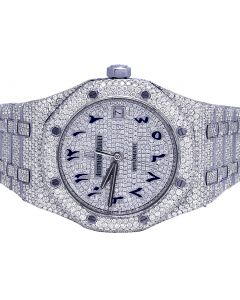 Audemars Piguet Royal Oak 37MM Steel VS Diamond Watch 23.45 Ct