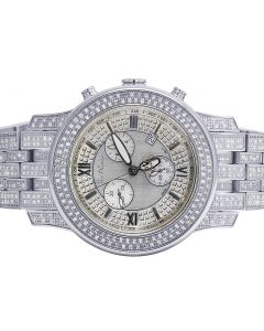 Mens Joe Rodeo 2000 J2025 50MM Diamond Watch 3.5 Ct