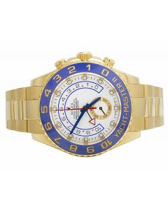 Rolex 18K Yellow Gold 116688 18K Yacht Master II 44MM Watch