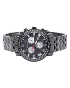 Joe Rodeo Classic Black Diamond Watch JCL 107 (3.50 ct)