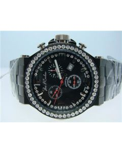 Joe Rodeo Black Phantom Diamond Watch JPTM45 (3.25ct)