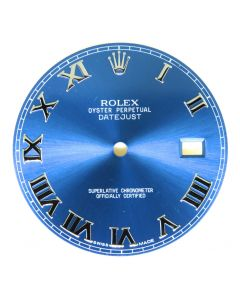 Original Rolex Blue Roman Dial for Datejust II 41MM 126300 126334 Watch