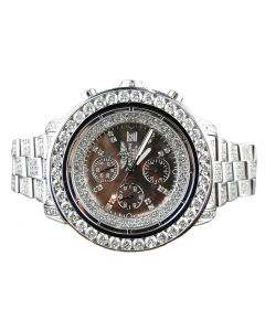 Breitling Super Avenger Diamond Chronograph (32ct)