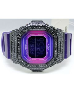 G-Shock/G Shock Ladies Black Simulated Diamond Watch 5600