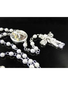 Multi Color Diamond Rosary Necklace (4.5 Ct)
