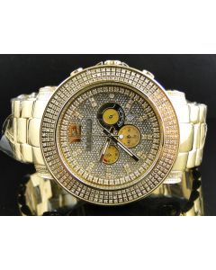 Don & Co Junior 51MM Diamond Watch R8049Y (2.5 Ct)