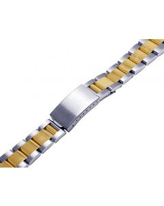 14K/ Steel Two Tone Oyster Watch Band for Rolex 36MM Datejust