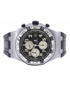 Mens 42 MM Audemars Piguet Royal Oak Offshore Stainless Steel diamond (5.5 Ct)