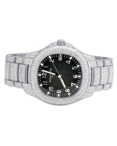 Patek Philippe Aquanaut 5167/1a with 21.5 Ct VS Diamond