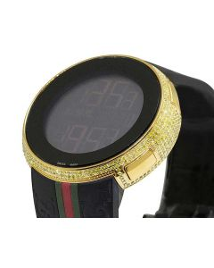 I-Gucci Digital Canary Diamond Watch 4.0 Ct YA114207