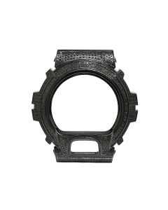 Black Diamond Case for G Shock DW-6900 Watch 3.0 Ct