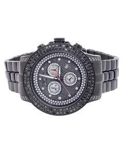 Joe Rodeo Pilot Black Diamond Watch JRPL 32 (5.85 ct)