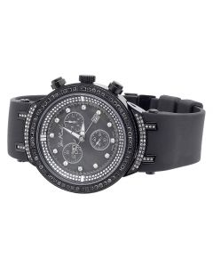 Joe Rodeo Master Black Diamond Watch JJM 74 (2.65 ct)