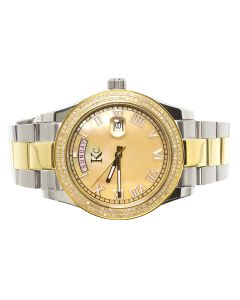 KC Two Tone Watch with Day Date (1.0 ct)