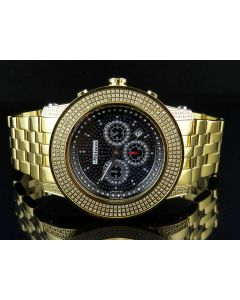 Mens Joe Rodeo Jojo Jojino 300 Gold Plated 52 MM Diamond Watch 3.0 CT MJ-8033
