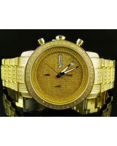 Mens Jojino by Joe Rodeo Genuine Diamond Watch MJ-1000B (1.05 Ct)