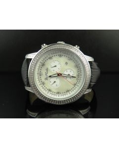 Joe Rodeo Sicily White MOP Dial Diamond Watch JRSI 1 (1.80 Ct)