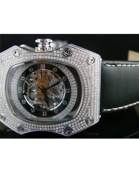 Techno Com Kc Automatic Diamond Watch (4.0 Ct)