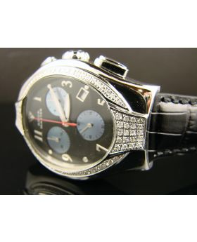 Aqua Master/Joe Rodeo Swiss 100 Diamond Watch 1.25