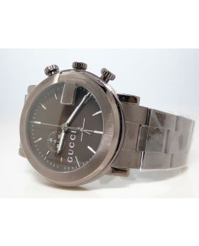 Mens Brown Stainless Steel Gucci Watch