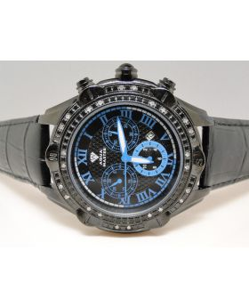 Aqua Master Jojo Joe Rodeo Techno Kc Real Diamond Watch