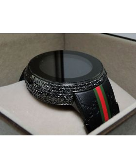 Brand New I Gucci Digital Black Diamond Watch