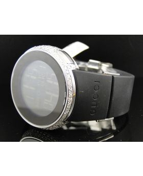 Brand New 5 Row I Gucci Digital White Diamond Watch