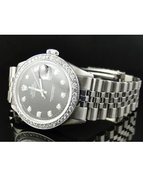 Rolex Datejust Stainless Steel with 2.15 Ct of Diamonds