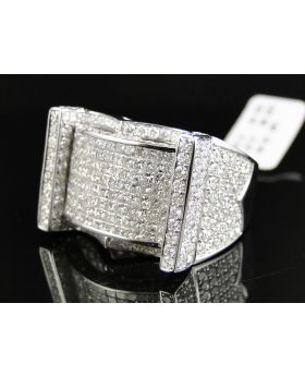 High End Princess Cut Diamond Ring (8.35 Ct)