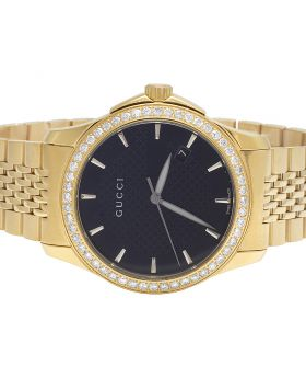 Mens Gucci G-Timeless YA126402 38MM Diamond Watch 2.0 Ct