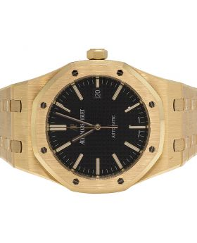 Mens Audemars Piguet Royal Oak 18K Rose Gold 41MM Watch