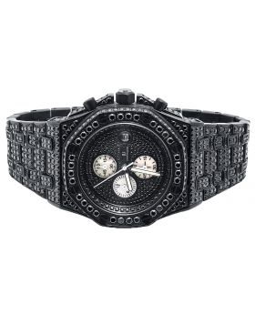Iced Out Stainless Steel Simulated Diamond Watch AP-04