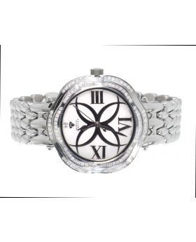 Womens Aqua Master W#342 Diamond Watch (.85 ct)