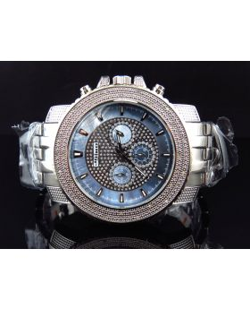 Jojino/Jojo Genuine Diamond Steel Watch, MJ-1209 (1/4ct)
