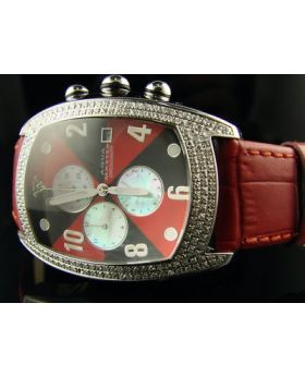 New Aqua Master Jojo Joe Rodeo W42 Diamond Watch 2.50 C