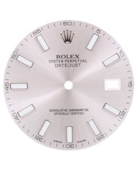 Factory Original Rolex Silver Dial for Datejust II 41MM 116300 116334 Watch