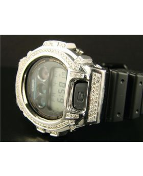 Casio Mens G Shock 6900 Diamond Watch 5.0 Ct