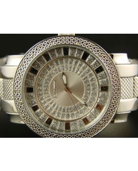 JoJino Stainless Steel Diamond Watch