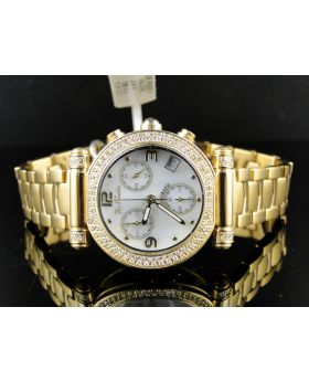 Joe Rodeo/Jojo Gold  Diamond Watch 1.10 Ct Jva4