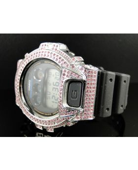 Joe Rodeo G-Shock Simulated Diamond Watch