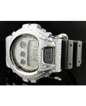 G Shock Joe Rodeo Clear Simulated Diamond Watch