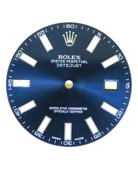 Original Rolex Blue Dial for Datejust II 41MM 116300 116334 Watch